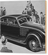 Chrysler Airflow Wood Print