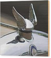 Chrysler Hood Ornament 2 Wood Print