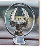 Chrysler Imperial Hood Ornament Wood Print