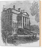 Ch�teau Margaux, 1867 Wood Print by Granger