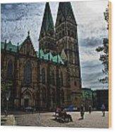 Church in Bremen Germany 2 Wood Print