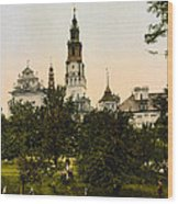 Church In Czestochowa - Poland - Ca 1900 Wood Print