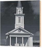 Church In Eureka Wood Print