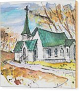 Church In Friars Point Mississippi Wood Print