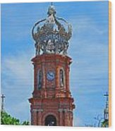 Church In Puerto Vallarta Wood Print