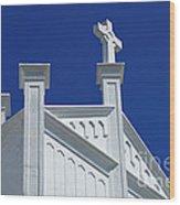 Church Key West Florida Wood Print