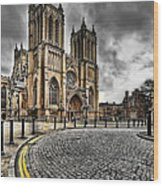 Church Of England Wood Print