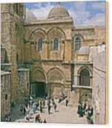 Church Of Holy Sepulchre Old City Jerusalem Wood Print