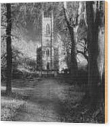 Church Of St Mary Magdalene Wood Print by Simon Marsden