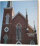 Church Series - 3 Wood Print