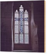 Church Stained Glass Window 2 Wood Print