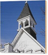Church Steeple Wood Print