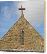 Church Top Wood Print