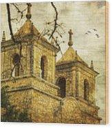Church Towers Wood Print
