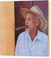 Cigar Wood Print