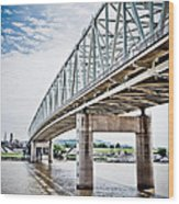 Cincinnati Taylor Southgate Bridge Wood Print