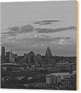 Cincinnati Wood Print