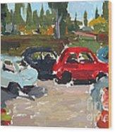 Cinque Cento Rally Radicofani  Wood Print