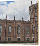 Circa 1818 Gothic 1st Presbyterian Church Huntsville Alabama Usa Wood Print