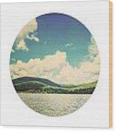 Circle Lake Wood Print