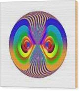 Circle Study No. 28 Wood Print