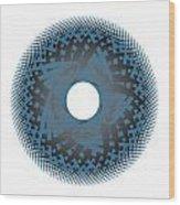 Circle Study No. 45 Wood Print