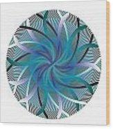 Circle Study No. 96 Wood Print