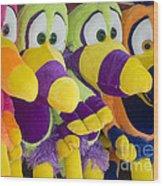 Circus Animals Wood Print