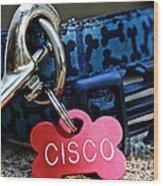 Cisco's Gear Wood Print