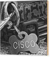 Cisco's Wood Print