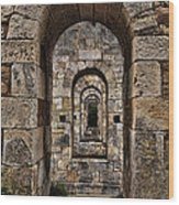 Citadelle Bridge Arch Wood Print