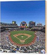 Citifield Wood Print