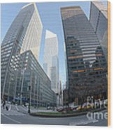 Citigroup Center From Park Avenue I Wood Print