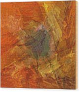 Citrine Wood Print