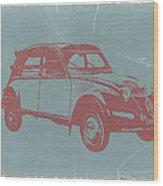 Citroen 2cv Wood Print