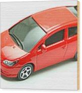 Citroen C4 Model Car Wood Print