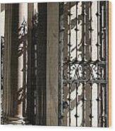 City 0046 Wood Print