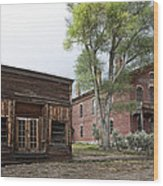 City Drug Store And Hotel Meade - Bannack Montana Ghost Town Wood Print