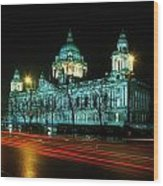City Hall, Belfast, Ireland Wood Print