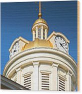 City Hall Dome I Wood Print