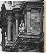 City Hall Edifice - Philadelphia Wood Print