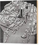 City Model Of Sydney, 1969 Wood Print