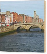City Of Dublin Wood Print