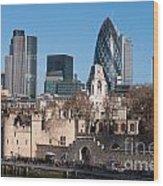 City Of London Wood Print
