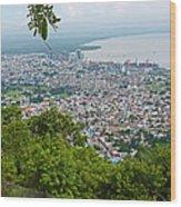 City Of Port Of Spain Trinidad 3 Wood Print