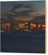 City Skies Wood Print by Michael Murphy