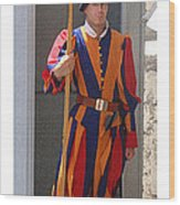 Citymarks Vatican Wood Print
