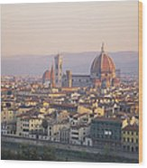Cityscape, Florence, Italy Wood Print