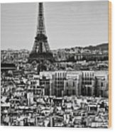 Cityscape Of Paris Wood Print by Sbk_20d Pictures