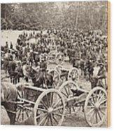 Civil War: Artillery, 1862 Wood Print